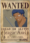 Axel Wanted Poster by TheDarkestMemory