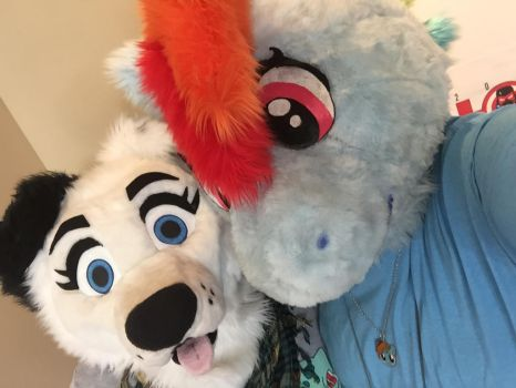 Hall of Heroes Comicon 2017 Selfie by SonicAmp
