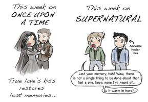 OUAT-SPN: True Love's Kiss - SPOILERS by blackbirdrose