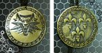 Witcher amulet medallion by TimforShade