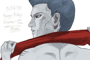 Happy Birthday, Kisame 2011 by Nagabonar-an