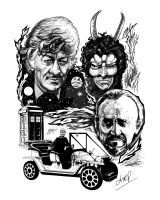 Doctor Who - The Daemons by iancan