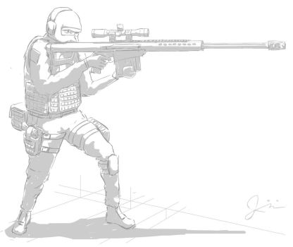 Barrett M107 Study by antibioradiohazard