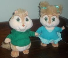 Theodore and Eleanor plush by ChipmunkRaccoon2