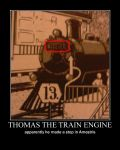 Thomas the Train engine makes a stop in Amestris by Angel-of-Alchemy-42