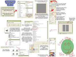 Tutorial for GIMP patterns by Cleocatra