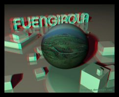 Fuengirola 3D anaglyph orb by Graphica
