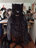 WIP- werwolf costume by firedragoran