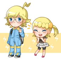 Clemont and Bonnie by Unknown-Amelia