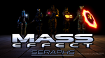 Mass Effect: Seraphs|Wallpaper by SF-Productions