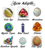 Gem Adopts - CLOSED by 102vvv