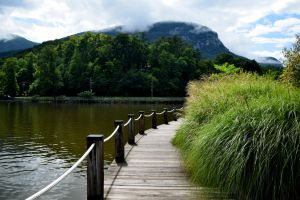 Lake Lure Bridge by Illustrate-The-World