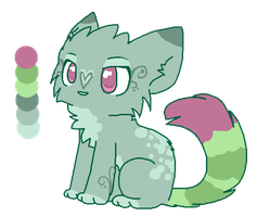~ [Glistening Pond] Adoptable Kitty ~ by Linthium