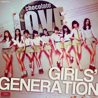 Girls' Generation - Chocolate Love by Cre4t1v31