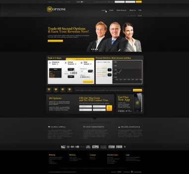 Forex website design by MissNasuta