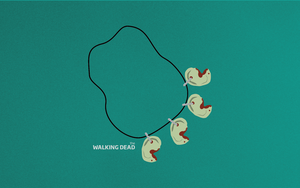 The Walking Dead Minimalism Wallpaper  widescreen by ChucklesMedia