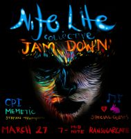 Live paint Show OTTAWA flyer by StefanThompson