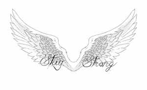 Angel wings tatto by Music-Bringer