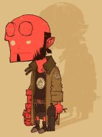 Hellboy... by peerro