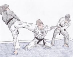 Martial Arts Story 1 by Sylizar