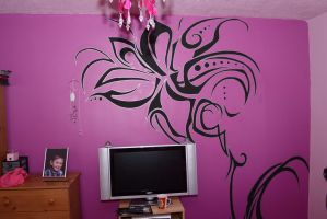My sisters new room by haggins11