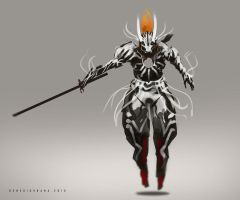 Hollow Ultima Ichigo Fanart by benedickbana