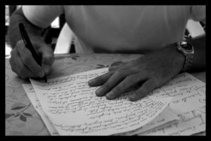 Ecriture by clairwitch