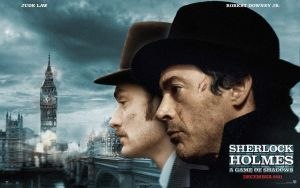 Sherlock Holmes 2 wide poster by AndrewSS7