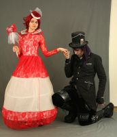The Red Queen and the Mad Hatter 2 by MajesticStock
