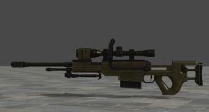 Re6 Anti Material Rifle by zeushk