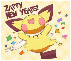 Zappy New Years! by pichu90