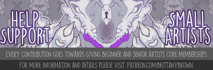 Patreon Ad by paperfoxes