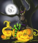 Halloween Art Exchange 2015 by ReapersElysium