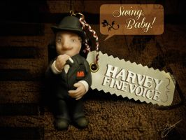 Lundi Linkara : Harvey Finevoice by Shlapocalypse