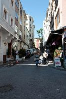 Istanbul - Old Town near Sultan Ahmet by puppeteerHH