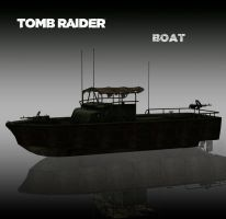 TOMB RAIDER: Boat by doppelstuff