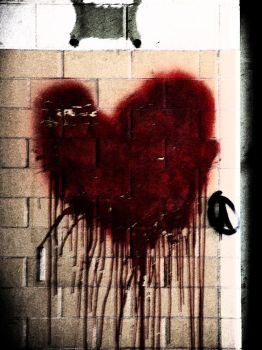 Bloodstained Heart by Static-Imagination