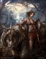 Battle Kitty _ The Ember Conflict by liquidminduk