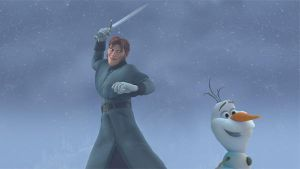 Disney's Frozen Hans + Olaf here comes a warm hug by cdpetee