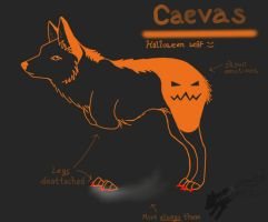 Caevas (Halloween character) by Clawwish