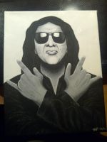 Gene Simmons by CplSarCia