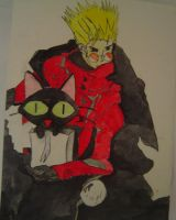 Trigun Christmas by TacDavey