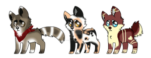 Adopts Auction ..::OPEN::..3/3::.. by TranquilityBlue