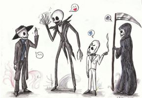 All ze Skeletons by JarODragon