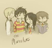 We Are The Marauders by tricneu