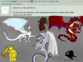 Ask the Ancients Q11: Adalisks Everywhere! by BlackDragon-Studios