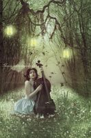 Music In The Forest by maiarcita