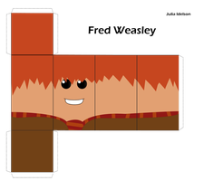 Fred Weasley Foldable Box by babyboybluecrazy