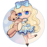 Chibi Blondie Lockes by bunnidolls
