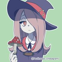 Sucy - Little Witch Academia by Paulinaapc
